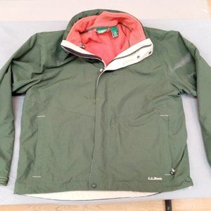 L.L. Bean 2 in 1 Jacket and Fleece.